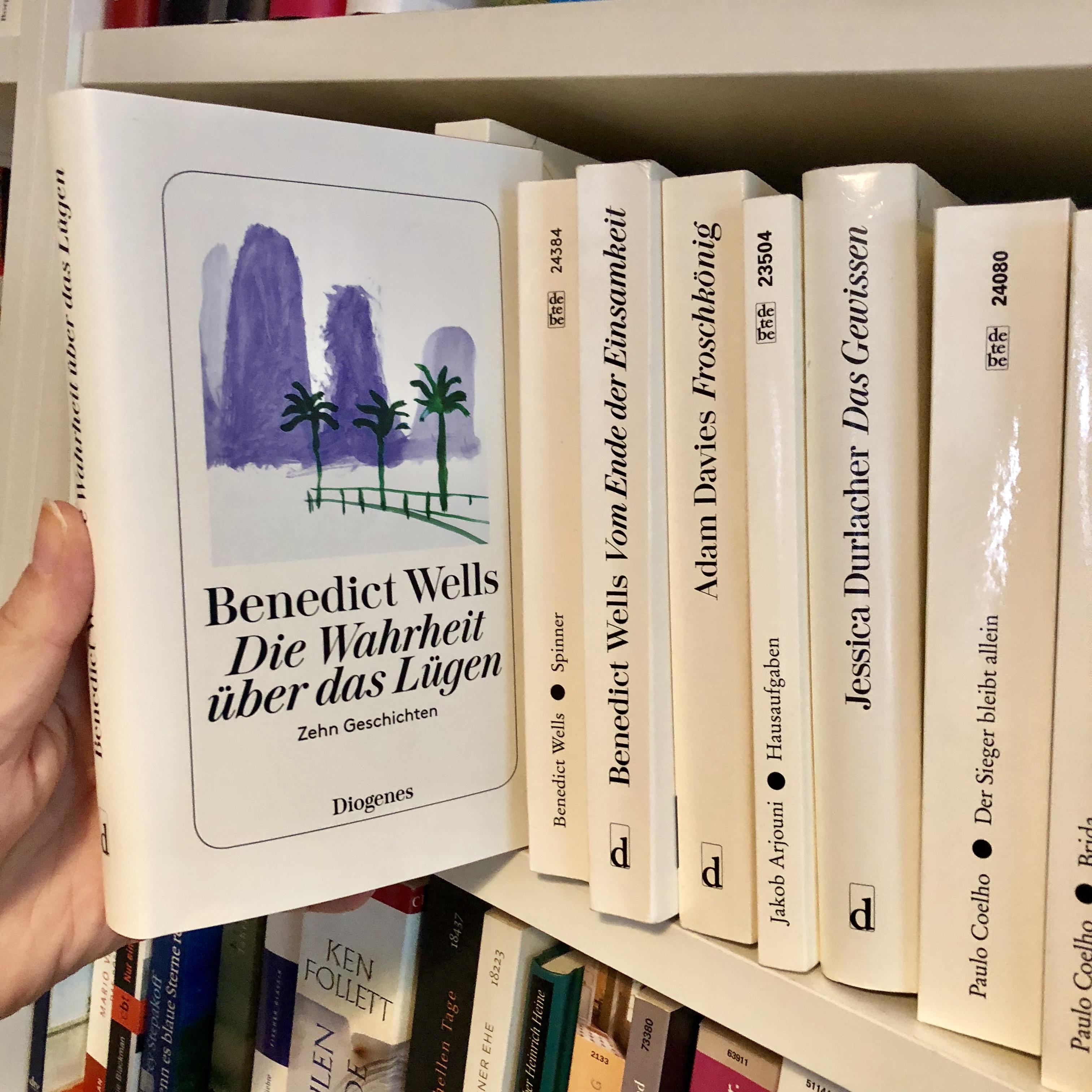 Rezension Die Wahrheit über Das Lügen Benedict Wells Literatour